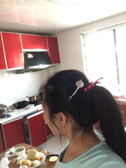 发夹 韩国饰品几何复古刘海发卡发夹头饰发饰女夹子顶夹一字夹边夹 网红小恐龙发夹 五角星薄荷绿 晒单图