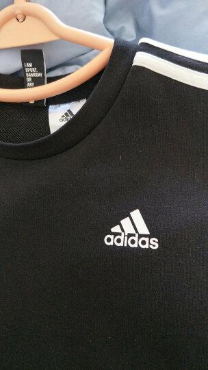 adidas阿迪达斯男运动卫衣秋季新款圆领套头衫文化T训练服休闲运动服DQ3083 DU0486灰色+黑色 M 晒单图