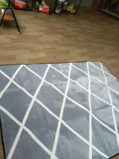 【满99减10】皇朝家私 除尘垫地垫地毯耐磨客厅卧室厨房餐厅多功能防滑垫 圣诞雪人 80*185cm【床边地毯】 晒单图