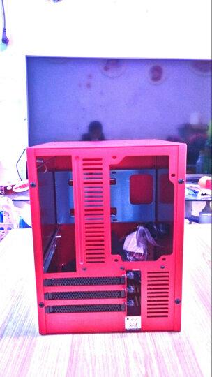 乔思伯(JONSBO)C2 红色 MINI机箱(支持24.5*21.5CM尺寸内主板/全铝机箱/ATX电源/80MM高内散热器) 晒单图