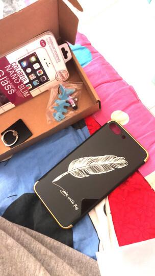 酷乐克 手机壳保护套防摔全包 适用于苹果iphone7/7plus/8plus iPhone7电镀镜面亮粉哈喽-4.7英寸 晒单图