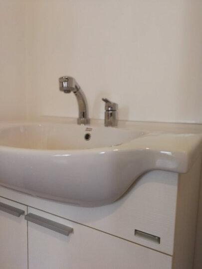 美标 卫浴 新科德系列落地式浴室家具 800mm(含盆及龙头)浴室柜CVASNC80 新摩登浴室镜CVASNM75 晒单图