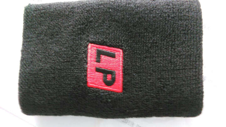 LP661 棉质头部汗带 运动头带头巾 红色 晒单图
