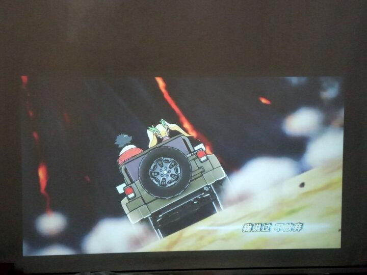 轰天炮LED96投影仪家用迷你便携办公全高清无线激光电视wifi手机智能投影机1080P家庭3D影院 96+白色(家用性价比版) 标配版(无WIFI) 晒单图