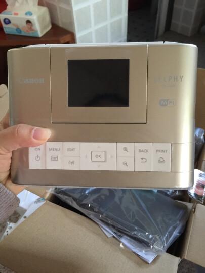 佳能(Canon) CP1200手机无线照片打印机家用 热升华便携相片小型手机照片打印机 金色套餐1 晒单图