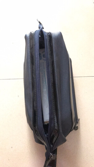 维至(VOYJOY) 商务洗漱包套装防泼水旅行包化妆包 男女士便携旅行出差收纳包T505 深蓝色 23*12*14.5CM 晒单图