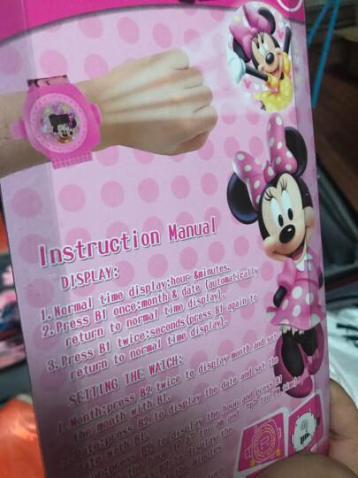卡通24图投影表3D投影表男女公主玩具手表电子表儿童创意手表生日礼物 蜘蛛侠 晒单图