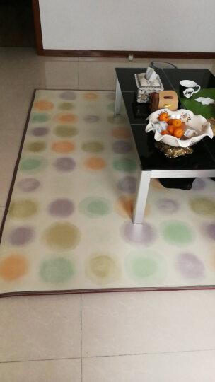 美盈 碳晶地暖 电热地毯移动地暖垫 电热毯暖脚垫 地热垫 地暖毯 地热垫 幻彩 200*180 晒单图
