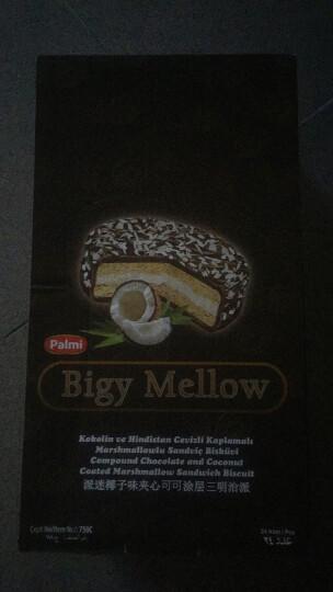 土耳其派迷水果味巧克力涂层蛋糕三明治派 椰子夹心巧克力三明治派64g*24袋\盒 晒单图