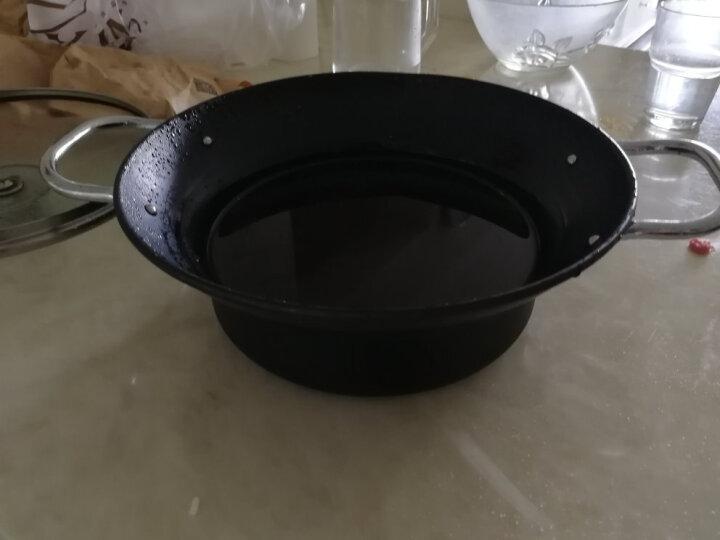 摩登主妇 日式厨房烹饪系列油炸锅 天妇罗油炸专用锅 家用小炸锅 24cm带滤网油炸锅 晒单图