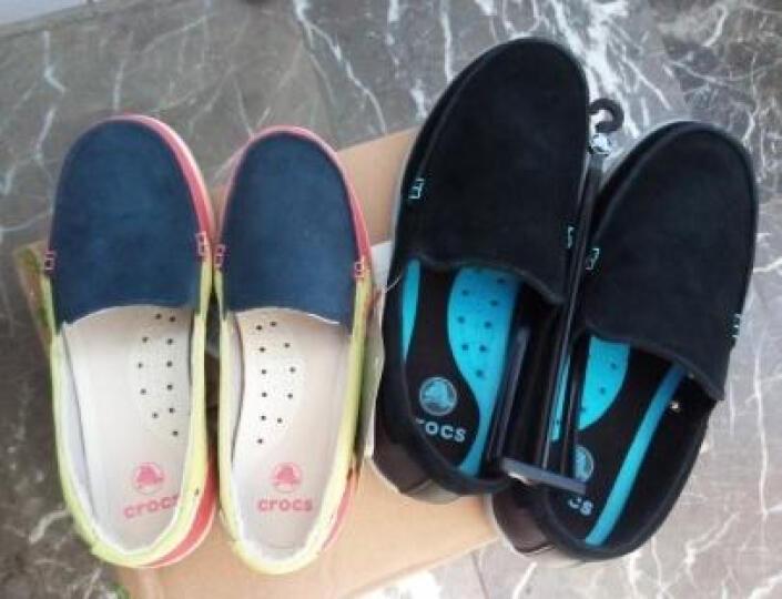 Crocs卡骆驰休闲女鞋 夏季反绒浅口女士单鞋/14415 肉桂色/深咖啡-2D5 W5 晒单图