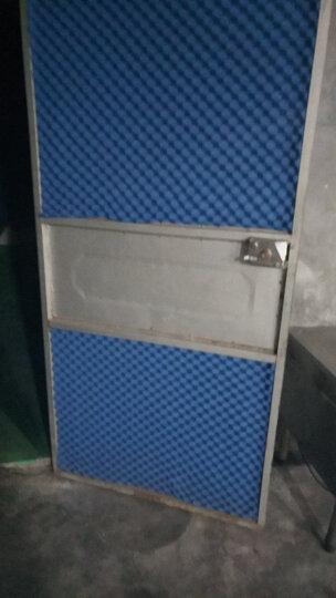 隔音棉墙体消音卧室自粘阻燃ktv录音棚隔音窗户贴隔音板吸音材料【1米宽】 2.5厘米黄色一米价格 晒单图