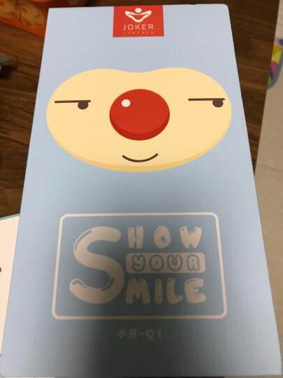 小丑(joker)Q1-B 儿童超声波震动充电式电动牙刷 萌娃款蓝色 晒单图