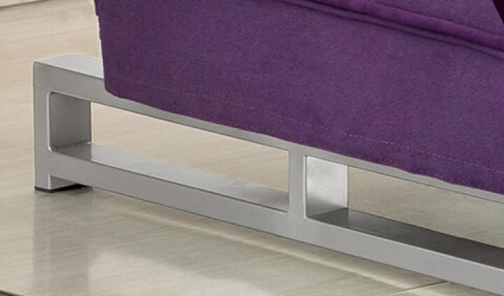 洛艾 折叠沙发床 单人 双人 多功能沙发 彩色大花米黄色 1.8米 晒单图