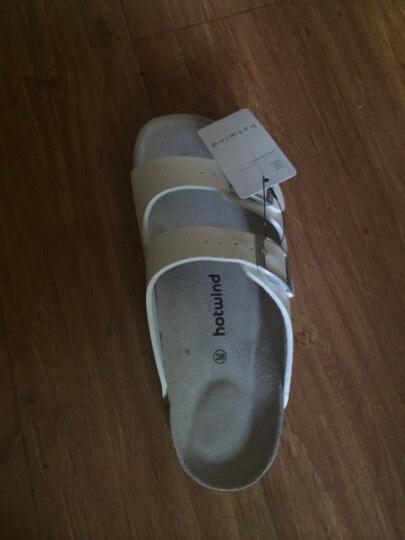 热风2014 女士拖鞋 夏季新款韩版一字型拖鞋软木拖鞋