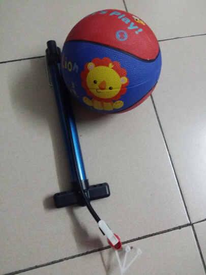 费雪(Fisher-Price) 费雪儿童玩具球皮球手柄球 拍拍球 幼儿园篮球加厚防爆球 费雪认知布球组合2个装 晒单图