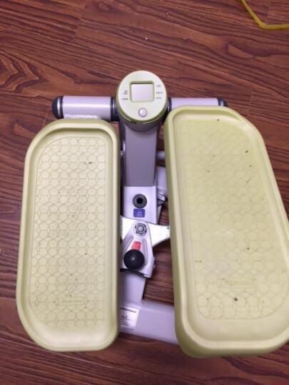 韩版雷克免安装静音踏步机家用减肥机登山机踩踏机迷你踏步机原地踏步 苹果绿 晒单图