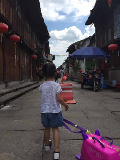 KO SHENG 儿童行李箱旅行箱可坐拖拉玩具骑行小孩宝宝个性拉箱子六一儿童节礼物 拉拉10030 晒单图