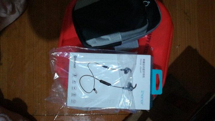 荣耀运动蓝牙耳机AM61原装无线跑步音乐防水 华为磁吸款双耳立体声双耳 可通话 超长续航苹果小米通用 魅焰红 晒单图