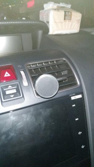 朗客 多功能手机支架磁吸夹式适用于车载出风口/书桌适用于 三星苹果手机或导航设备  灰色 晒单图