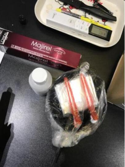 施华蔻 怡然染发剂自然黑色深棕色植物型 染发膏盖白发不伤头皮无氨染发 4.65-巧克力金棕色 晒单图