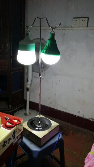 光纪 超亮LED节能停电应急灯家用充电灯泡 夜市灯摆地摊照明蓄电池可移动户外露营灯野营灯 20W白光三档调光(USB充电线) 晒单图