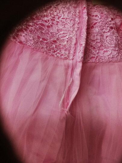 娣衣童(Diyitong) 女童连衣裙春夏季花童婚纱礼服连衣裙儿童蓬蓬裙童装公主裙 白色 140 晒单图