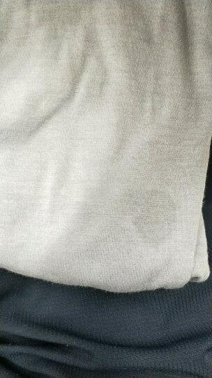 绿果 纯棉睡衣女夏季短袖七分裤棉质女士家居服可外穿休闲套装 3212 XXL(175) 晒单图