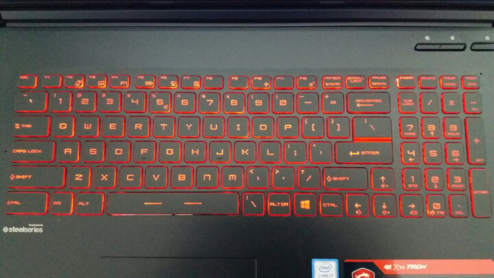 微星(msi)GL72M 17.3英寸游戏本笔记本电脑(i7-7700HQ 8G 1T+128G SSD GTX1050 4G独显 赛睿键盘 黑) 晒单图