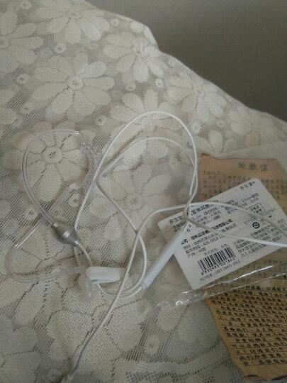 多宝莱 M37透明空气电话耳机健康耳机手机通用特工保镖 双模可调音深邃黑 晒单图