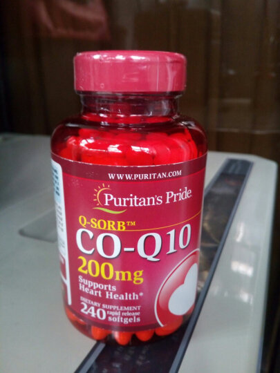 普丽普莱(Puritan's Pride) 辅酶q10软胶囊 美国原装进口Q10保护心脏 200mg120粒 晒单图