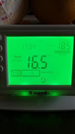 SASWELL 森威尔无线壁挂炉温控器 燃气锅炉液晶可编程无线温控器 无线款908XWHB-7-RF 不可手机控制 晒单图