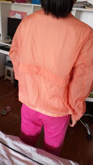 极地火(polarfire)新款时尚工装款女款收腰户外防晒皮肤风衣 皮肤衣防晒衣女粉红 M 晒单图