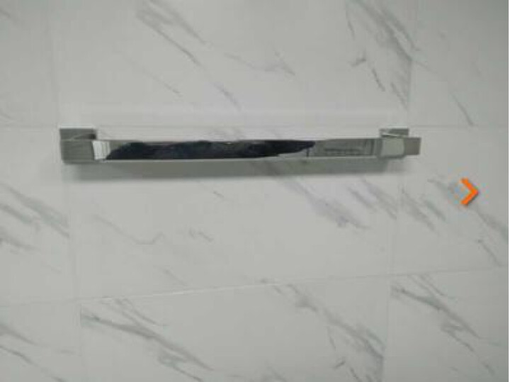 邦来(banglai)  304不锈钢镜面毛巾杆单杆 浴室五金挂件毛巾架浴巾架 60cm 晒单图