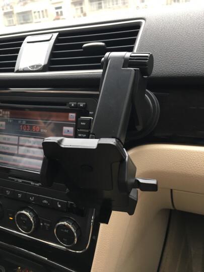 福鹿 车载手机支架 吸盘折叠出风口叠伸缩支架 汽车手机导航支架 吸盘+出风口二合一 晒单图