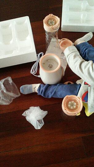 多乐(duole) 榨汁机便携式榨汁杯迷你果汁机多功能家用搅拌机小型DL-MBL01 粉色 晒单图