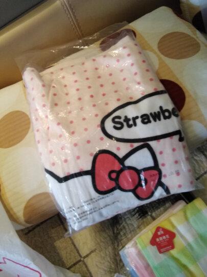 亚光 毛巾家纺 Hello Kitty凯蒂猫草莓之恋 纯棉卡通印花割绒大浴巾 粉色 350g/条 70*140cm 晒单图