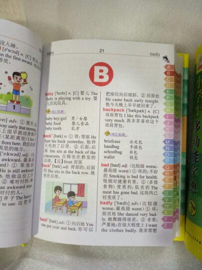 小学生英汉词典四色插图版汉英双语小学英语工具书英汉双解字典 晒单图
