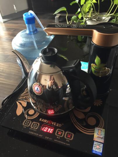 金灶(KAMJOVE)自动上水电热水壶 304不锈钢烧水壶 保温电茶壶 家用功夫茶烧水茶具K7 晒单图
