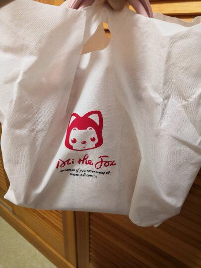 阿狸 旅行手拎透明包 女士手提包斜挎包水桶包 甜粉色果冻包 晒单图