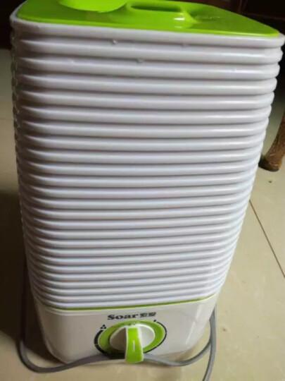 索爱(soar) 小型加湿器家用静音3.5L大容量卧室办公室空调增湿器迷你空气精油香薰机 绿色 晒单图