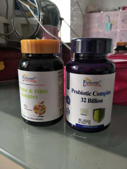 爱司盟益生菌粉胶囊 美国进口成人益生菌片肠胃养护 90粒/瓶 晒单图