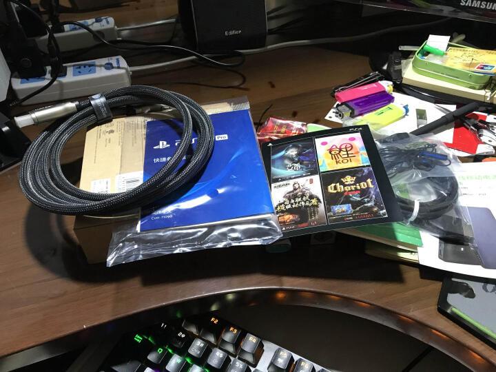 索尼(SONY)【PS4 Pro 国行游戏机】PlayStation 4 Pro 电脑娱乐游戏主机 1TB(白色) 晒单图