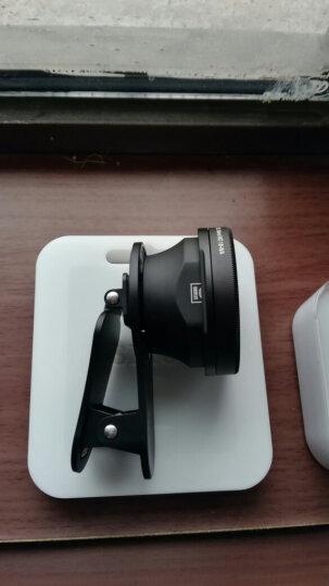思锐光学手机镜头广角 苹果iPhoneX/8/7 Plus小米华为通用单反拍照外置摄像头 广角镜头(送iphone7 Plus 白色卡口) 晒单图