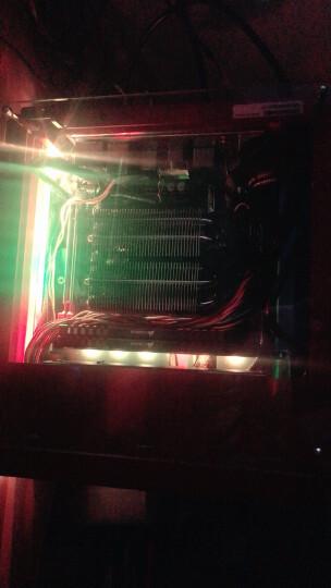大镰刀(SCYTHE)JT8039 CPU下压式散热器(支持115X、AM4平台/4热管/39mm总高/8cm智能温控风扇) 晒单图