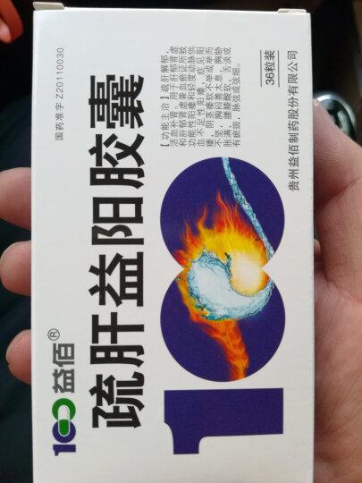 益佰 疏肝益阳胶囊 0.25g*36粒(治疗阳痿) 晒单图
