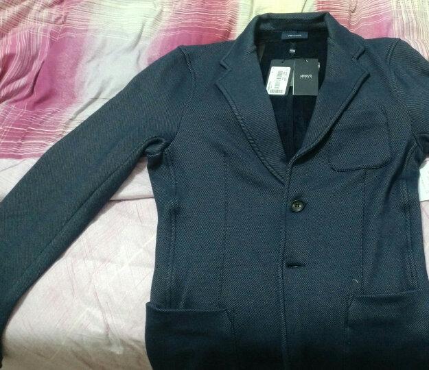 ARMANI JEANS阿玛尼奢侈品男士针织西服上衣6Y6G21-6J1EZ NAVY-0555 XL 晒单图
