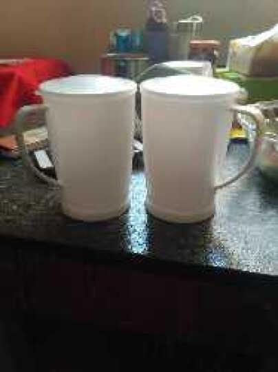 振兴(两个装)情侣牛奶杯  BF689微波炉专用牛奶杯子 600ML 热水杯 晒单图