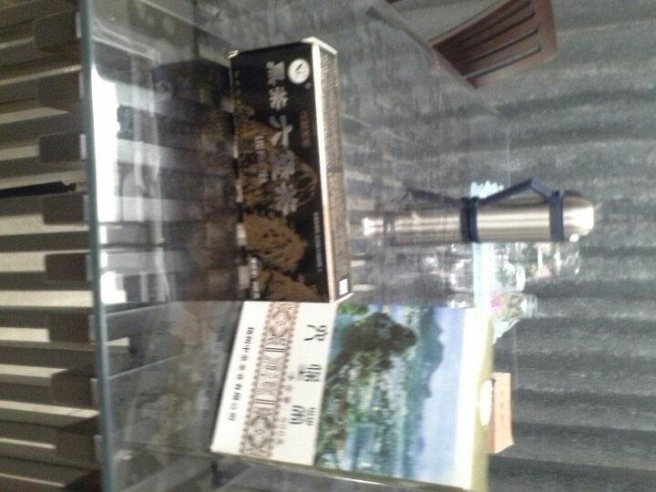【2008年陈化 2015年生产】中茶外贸三君子 梧州六堡茶黑茶 多特利黑盒特级散茶 200g/盒 晒单图