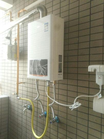 航天晨光 三力燃气管输送管热水器4分304不锈钢波纹管明装穿墙天然气煤气TC 内螺纹接头(个)可拆卸 预装到管子一端 晒单图